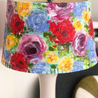 Eternal Spring lampshade